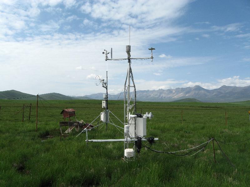 海北站通量观测系统