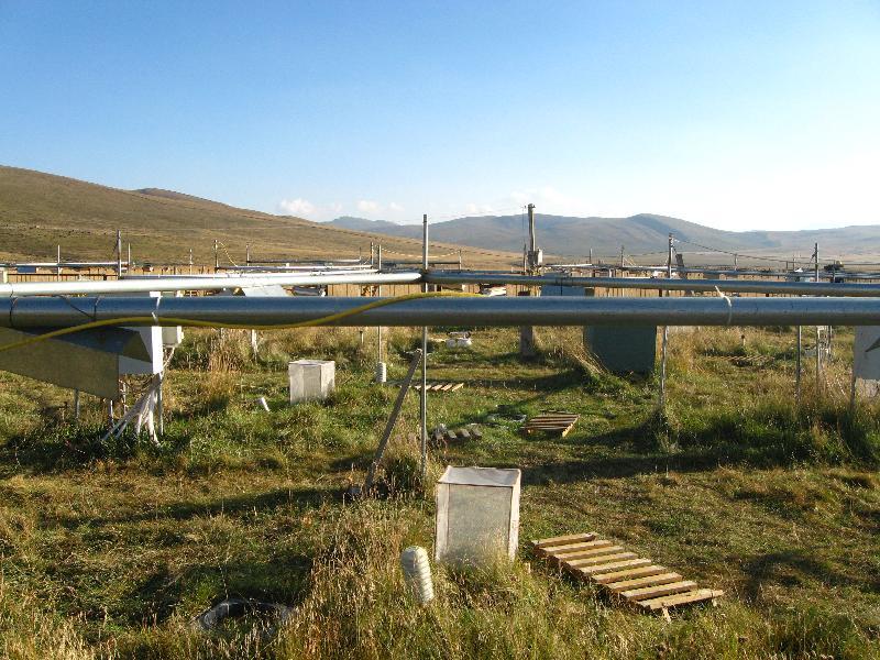 海北站高寒草甸增温放牧观测系统