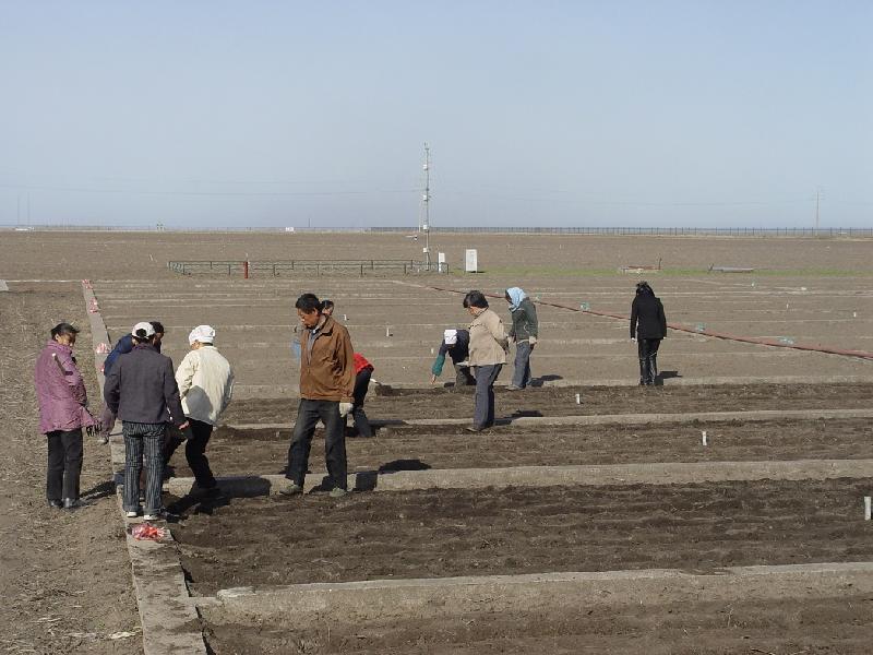 用于监测地下水位及农田灌溉。
