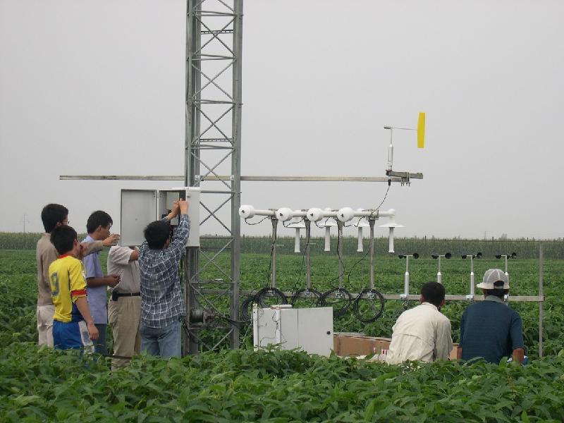监测不同层次土壤水分。