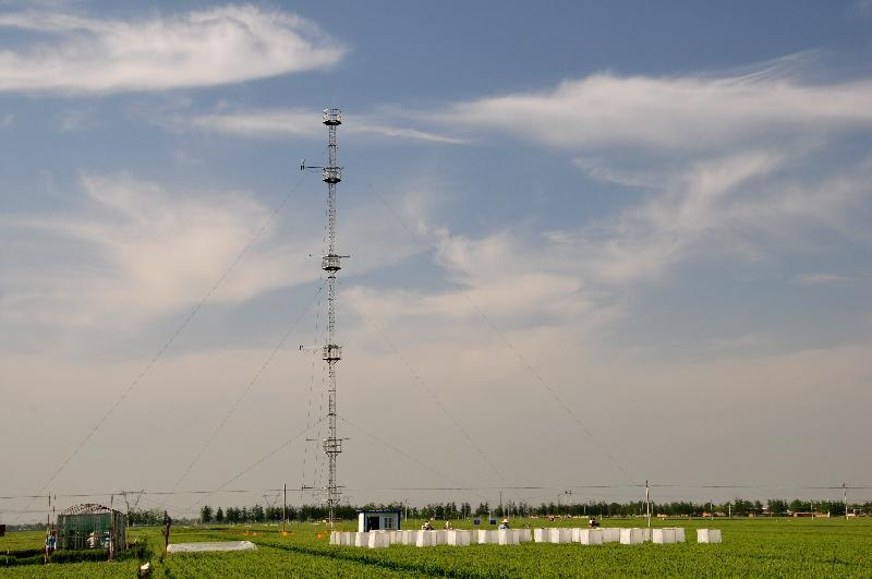 栾城站近地面遥感铁塔