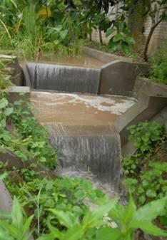 盐亭站村镇生活污水生态沟渠